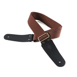 "DSL 50 POLY series Guitar Strap (Brown Polypropylene strap, 2"")"