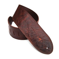 "DSL GMD Distressed Leather Guitar Strap (Brown, 3.5"")"