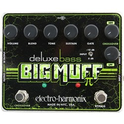Electro Harmonix Deluxe Bass Big Muff Pi Distortion / Sustainer Pedal
