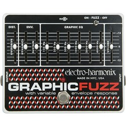 Electro Harmonix Graphic Fuzz EQ / Distortion / Sustainer Pedal