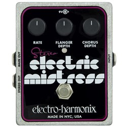 Electro Harmonix Stereo Electric Mistress Flanger / Chorus Pedal