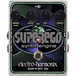 Electro Harmonix Superego Synth Engine Pedal
