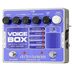 Electro Harmonix Voice Box Vocal Harmony Machine / Vocoder Pedal