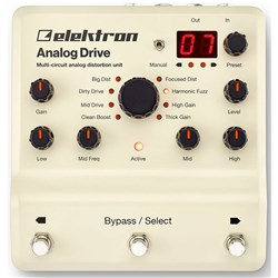Elektron Analog Drive Multi-Circuit Analog Distortion
