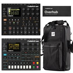 Elektron Digi Bundle w/ Digitakt, Digitone, Overhub & ECC7 Carry Bag