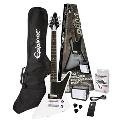 Epiphone PPEG-EDEXAWCH1-15 Electric Guitar Pack (Alpine White)