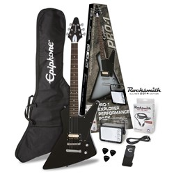 Epiphone PPEG-EDEXEBCH1-15 Electric Guitar Pack (Ebony)