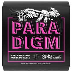 Ernie Ball 2023 9-42 Paradigm Super Slinky Electric Guitar Strings