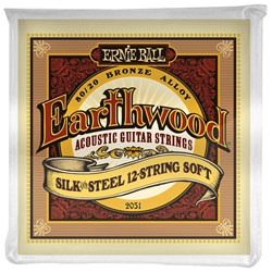 Ernie Ball Earthwood Silk & Steel 12-String 80/20 Bronze Acoustic Strings - (9-46)