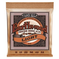 Ernie Ball 2148 Phosphor Bronze Acoustic Guitar Strings - 11-52
