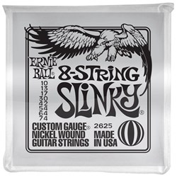 Ernie Ball 8-String Slinky Nickel Wound Electric Guitar Strings - (10-74)