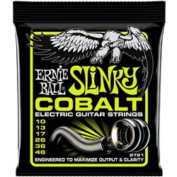 Ernie Ball Cobalt Regular Slinky Electric Guitar Strings - (10-46)