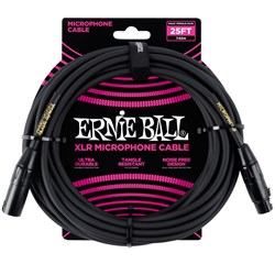 Ernie Ball 25' Male / Female XLR Microphone Cable