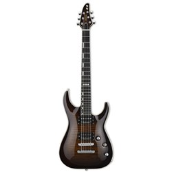 ESP E2 Horizon w/ Flamed Maple Top in Dark Brown Sunburst Seymour Duncan