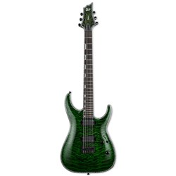 ESP LTD Horizon Series H-1001 Quilted Maple Electric Guitar (See Thru Green)