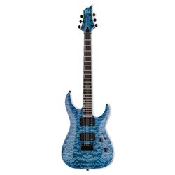 ESP LTD H-401QM Electric Guitar w/ EMG Pickups (Quilted Maple, Fade Sky Blue)