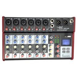 E-lektron SE-8 8 Channel Mixer w/ Bluetooth