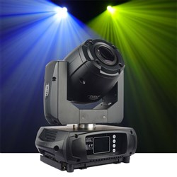 Event Lighting BM1S50W Battery Powered 50W Moving Head Spot