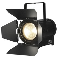 Event Lighting F100WWMZ Warm White Fresnel (100W 3000K COB LED)