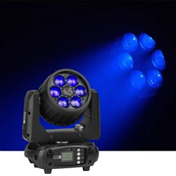 Event Lighting LM6X15 6x15W RGBW Moving Head Zoom Wash