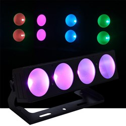 Event Lighting Pan 4 x 15W TRI COB LED Pixel Effect Light