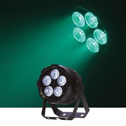 Event Lighting PAR5X12 LED Flat ProPar HEX 5 x 12W RGBWAU
