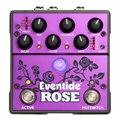 Eventide Rose Analog Digital Hybrid Delay Effects Pedal w/ HotSwitch, MIDI & More