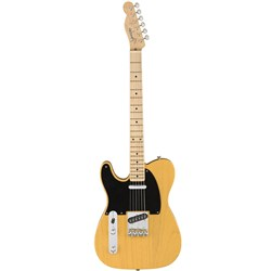 Fender American Original 50s Telecaster Left Hand MN with Case (Butterscotch Blonde)