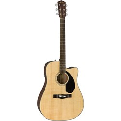 Fender CD-60SCE Dreadnought Acoustic/Electric w/ Cutaway (Natural)