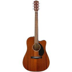 Fender CD-60SCE Acoustic Guitar w/ Cutaway & Pickup Walnut Fingerboard (Mahogany)