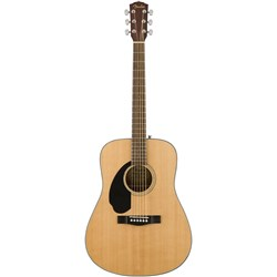 Fender CD-60S Left-hand Dreadnought Acoustic Guitar w/ Walnut Fingerboard (Natural)