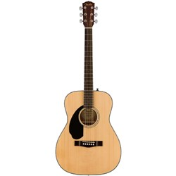 Fender CC-60S Concert Acoustic Guitar Left Handed w/ Walnut Fingerboard (Natural)
