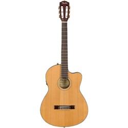 Fender CN 140SCE Nylon Thinline Guitar w/ Walnut Fingerboard Natural