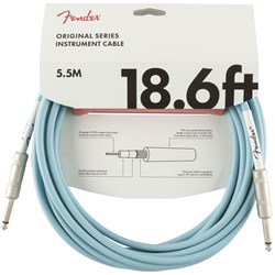 Fender Original Series Instrument Cable 18.6' (Daphne Blue)