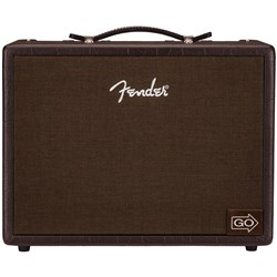 Fender Acoustic Junior Go Rechargeable Acoustic Guitar Amp w/ 60-Second Looper