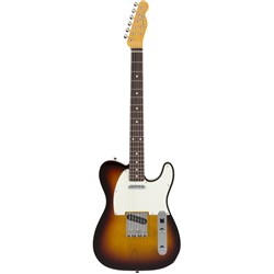 Fender Japan Classic 60s Tele Custom w/ Rosewood Fingerboard (3-Tone Sunburst) in Bag