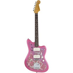 Fender Japan Traditional 60s Jazzmaster w/ Rosewood Fingerboard (Pink Paisley)