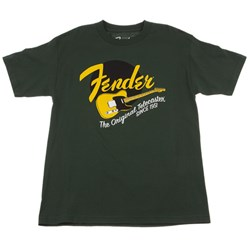 Fender T-Shirt Original Tele - Green (Large)