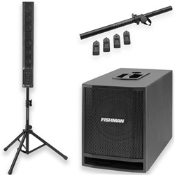 Fishman SA Performance Audio System Combo Pack w/ SA330x, SA Sub & Stand Kit
