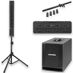 Fishman SA Performance Audio System Combo+ Pack w/ SA330x, SA Expand, SA Sub & Stand Kit