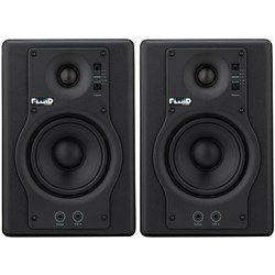 "Fluid Audio F4 Fader Series 4"" Studio Monitors (Pair)"