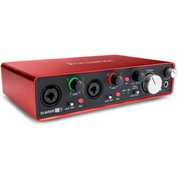 Focusrite Scarlett 2i4 USB Audio Interface w/ Pro Tools & Ableton Live (Generation 2)