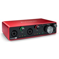 Focusrite Scarlett 4i4 Gen 3 4-in/4-out USB Audio Interface