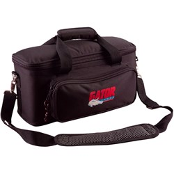 Gator GM-12B Padded 12-Mic Bag w/ Exterior Pockets for Cables