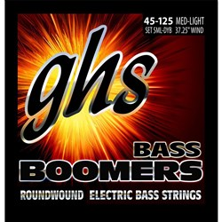 GHS Bass Boomers 5-String Medium Light Roundwound Electric Bass Strings (45-126)