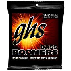 GHS Bass Boomers 6-String Medium Light Roundwound Electric Bass Strings (30-126)