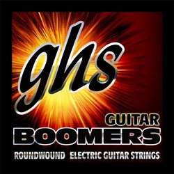 GHS Boomers DYL 6-String Roundwound Electric Strings Wound 3rd - Heavy (12-52)