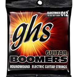 GHS Boomers GBH 6-String Roundwound Electric Guitar Strings - Heavy (12-52)