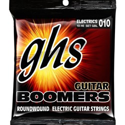 GHS Boomers GBL 6-String Roundwound Electric Guitar Strings - Light (10-46)