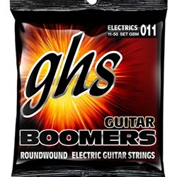 GHS Boomers GBM 6-String Roundwound Electric Guitar Strings - Medium (11-50)
